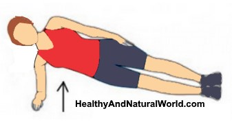 Plank exercises for a firmer and rounder butt