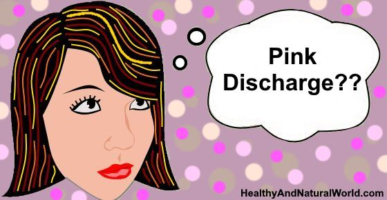 Pink Discharge: What Does It Mean?