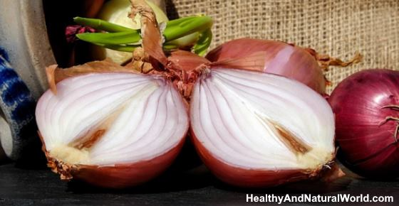 Onions on Feet or In Sock for Flu, Colds, Detox, and Infection