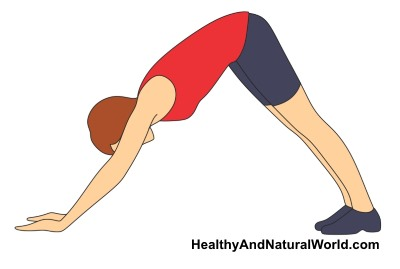 yoga pose to stretch psoas muscle