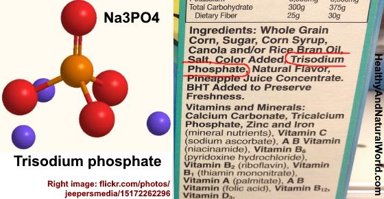 Trisodium phosphate (TSP) in Cereal or In Food: Is it Really Safe?
