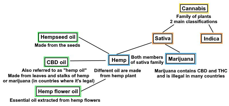 Hemp and the Cannabis Sativa Family