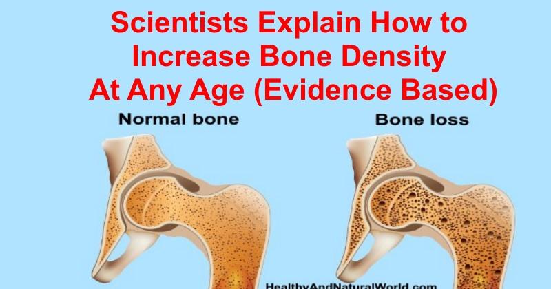 How to Increase Bone Density & Bone Health (Osteoporosis Diet)