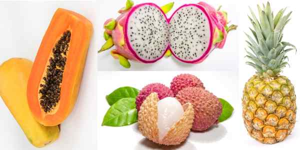 images of tropical fruits