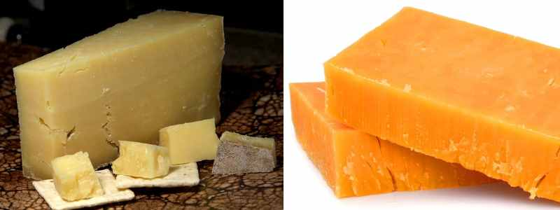Type of popular English cheese: Cheddar