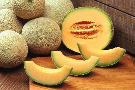 Cantaloupe melon is one of the most popular types of melon