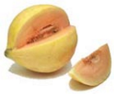 Type of melon: Crenshaw melon