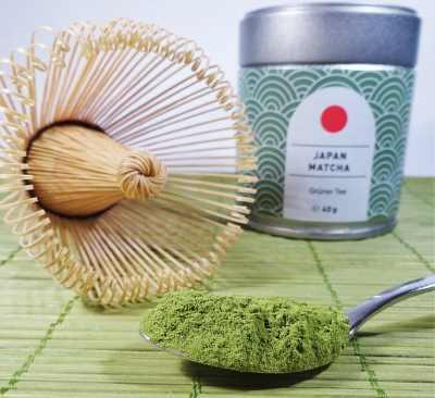 type of green tea