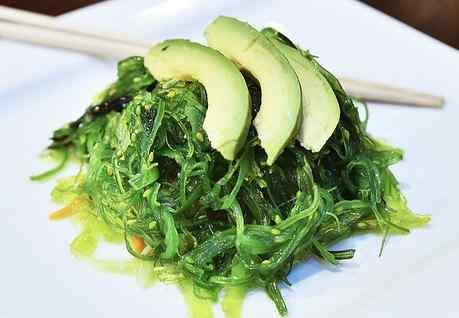 Wakama (sea vegetable) salad