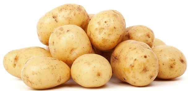 white potatoes pictures