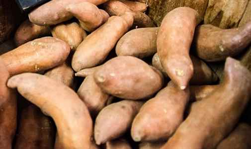 Type of sweet potato - jewel yams